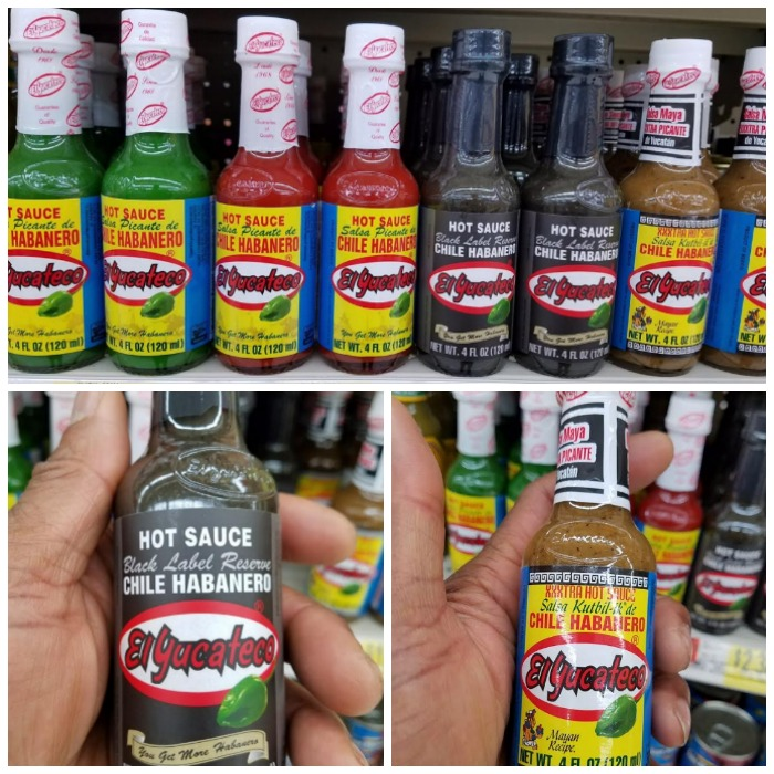 El Yucateco Products at Walmart