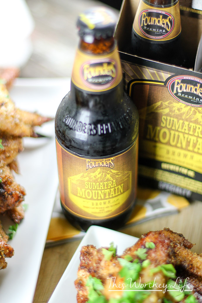 Founder's Sumatra Moutain Brown Beer