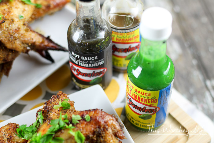 Grilled Chicken Wings + Basalmic Agave + Cilantro Dipping Sauce