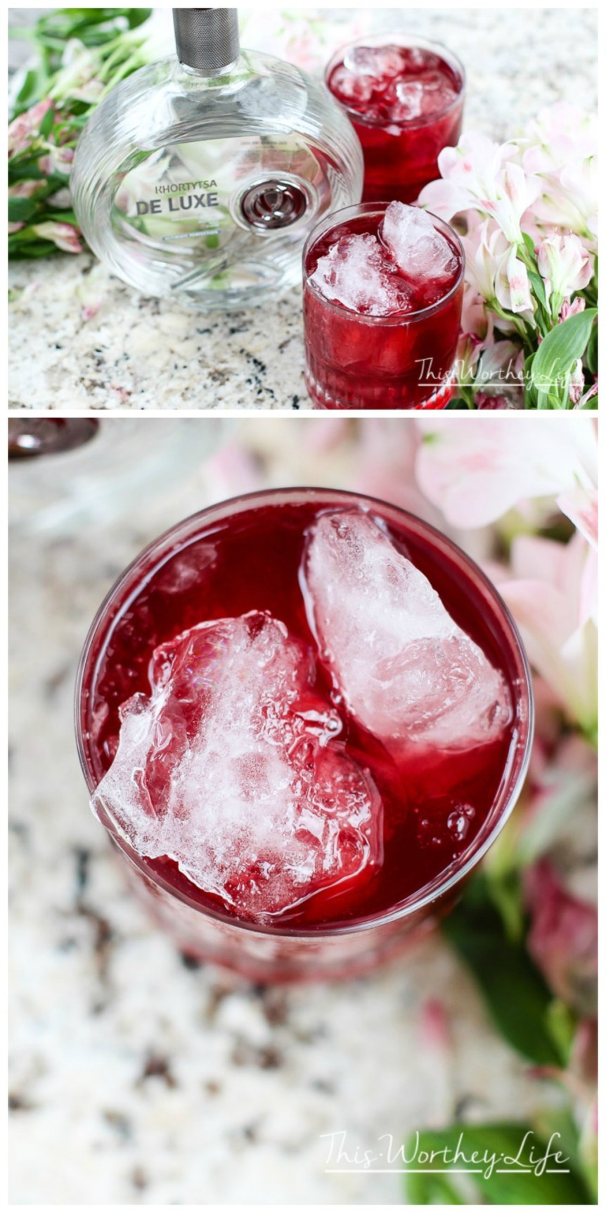 Need something as refreshing as a cool summer breeze? Well, we got the perfect hook-up for you with our on-point cocktail creation featuring an outstanding vodka, with our easy cocktail recipe- Hibiscus + Vodka Cocktail