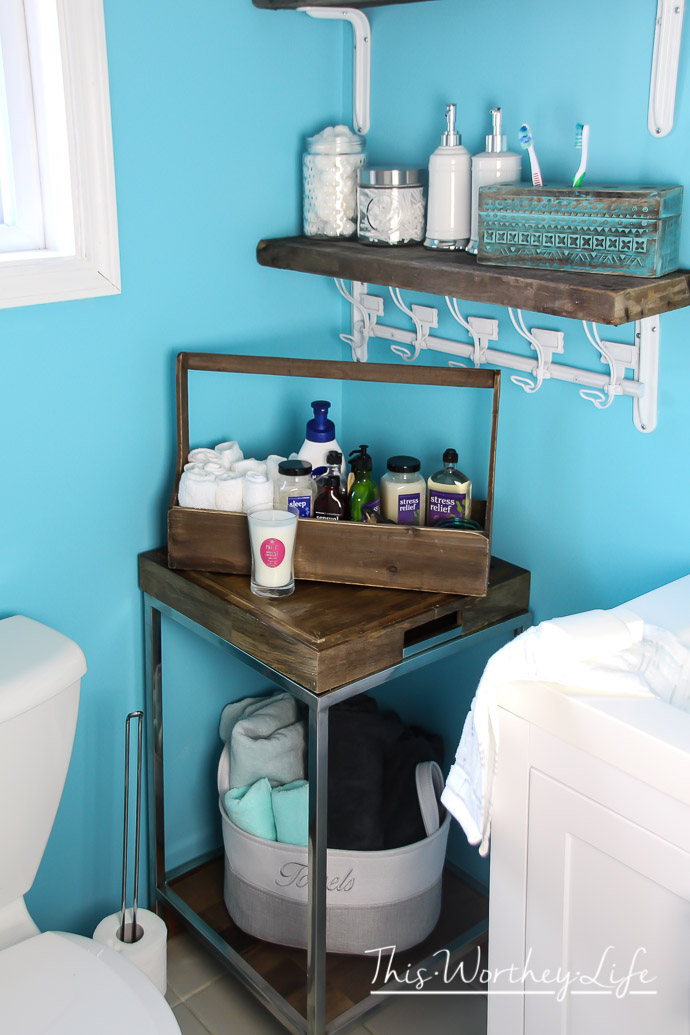 ac1a70e596b7 Simple Ways To Refresh Your Bathroom Before A Party - This Worthey ...