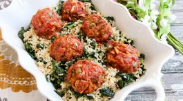 Olive Burger Meatballs Recipe