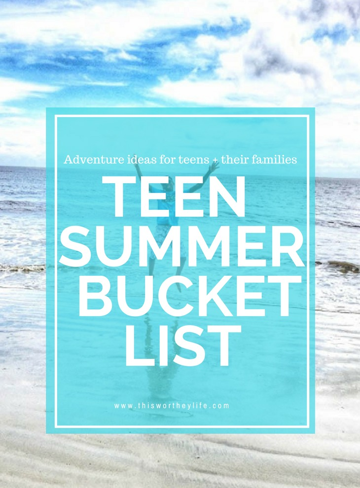 Summer will come and go, but memories last a lifetime! Plan a summer filled with fun adventures for you and your family using some of our ideas.  Get ideas for things teens can do this summer with our Teen Summer Bucket List. Adventure ideas for teens and their families.