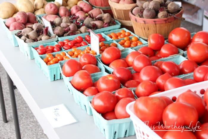Tips for visiting the Farmer's Market