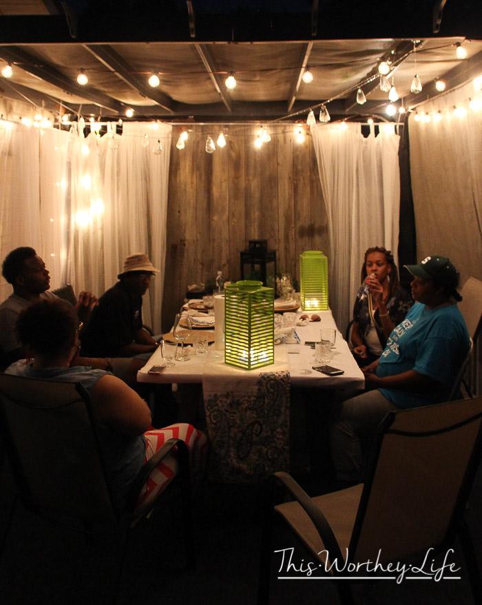 Patio Weekend Party Idea