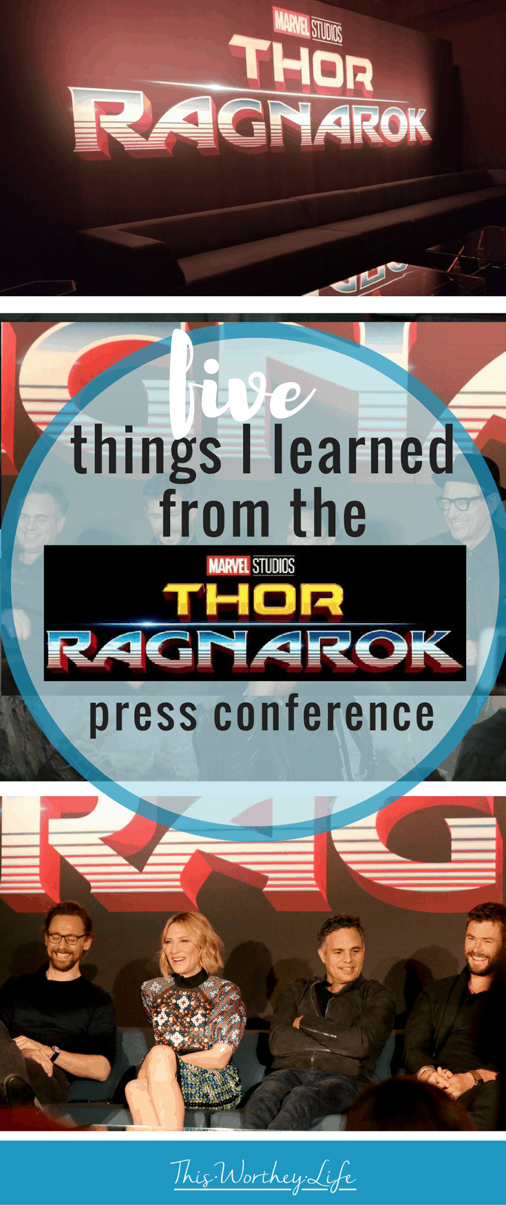 I recently attend the Thor Ragnarok Press Conference in Beverly Hills. Here are a few things I learned about the upcoming Marvel movie- Thor Ragnarok