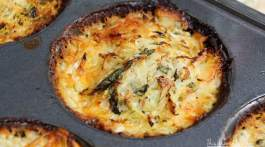 Chorizo + Potato Gratin with Fennel & Cilantro