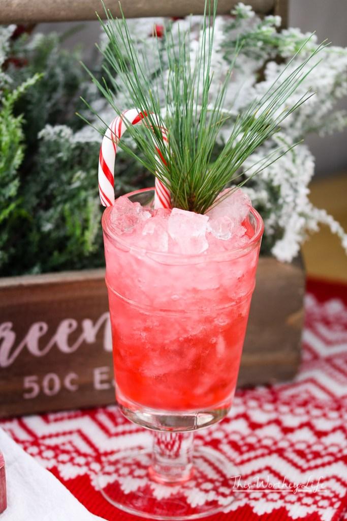 Christmas Peppermint Julep