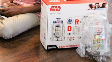 Every kid (and probably adults) want an R2-D2. I'm sharing how you can have your very own R2-D2, one of this year's hottest toy gift ideas, the Star Wars Droid Inventor Kit. Plus, I'm giving one away and sharing my thoughts on Why You Need To Buy Your Kids A Star Wars Droid Inventor Kit for the kids this holiday season!