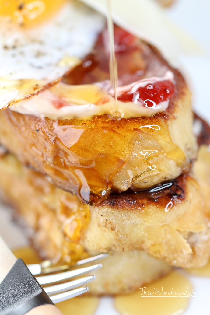Best Stuffed French Toast
