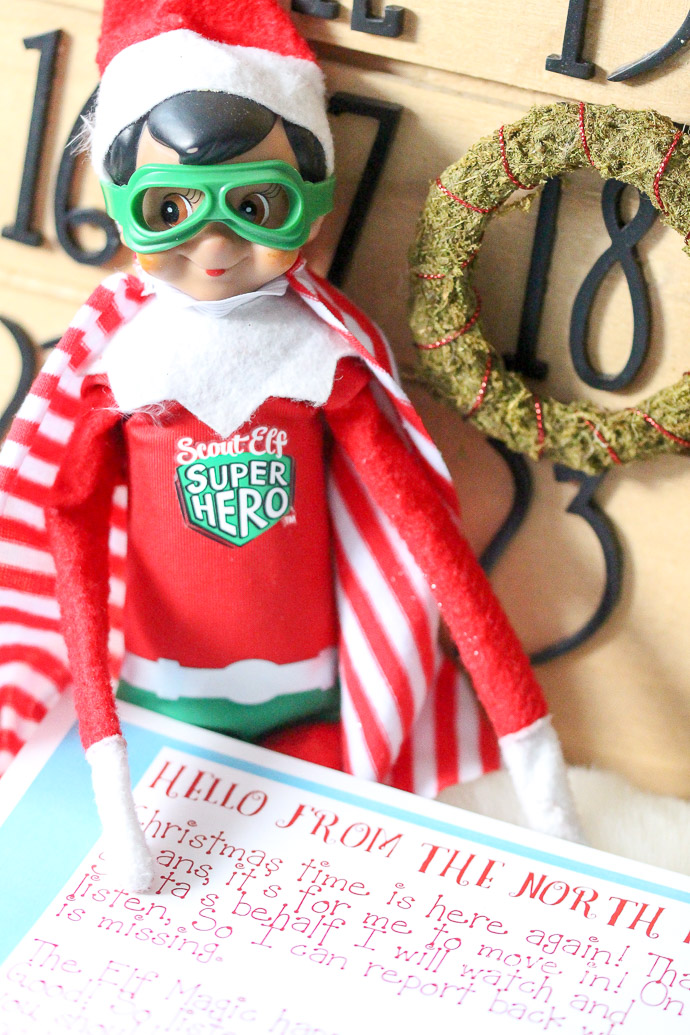 Need some ideas on how to welcome your Elf on the Shelf this year? Grab our free Elf on the Shelf Welcome Letter printable on the blog, and use it to help introduce your kids to the Elf this year!