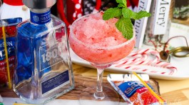 Frozen Capri Sun + Strawberry Margarita