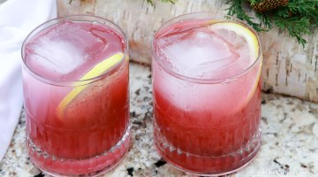 Try our spiked punch recipe at your upcoming award's party, game-day shindig, or summer bbq. Regardless of the event, this easy champagne punch is willing and ready to serve. Filled with Guava, Violette Liqueur, and Vodka, this cocktail is not only pretty but smooth and delicious.