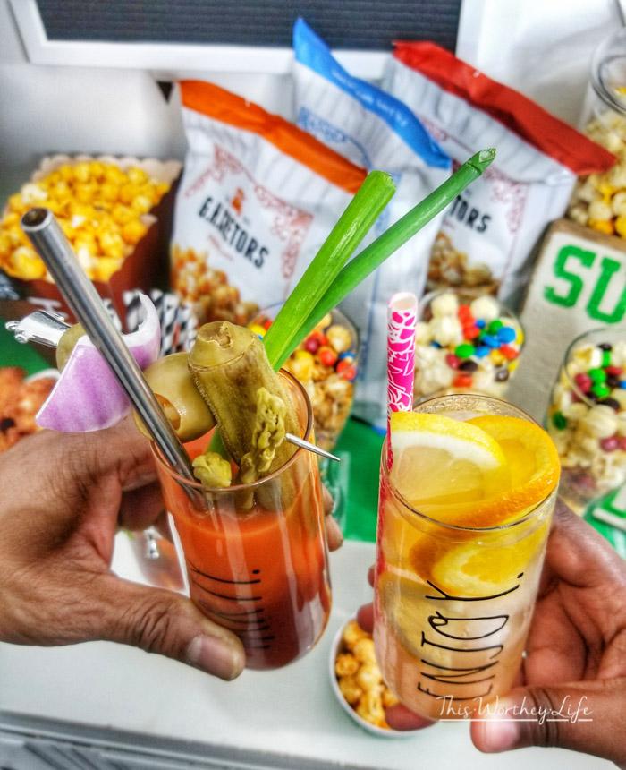 Popcorn Bar Idea