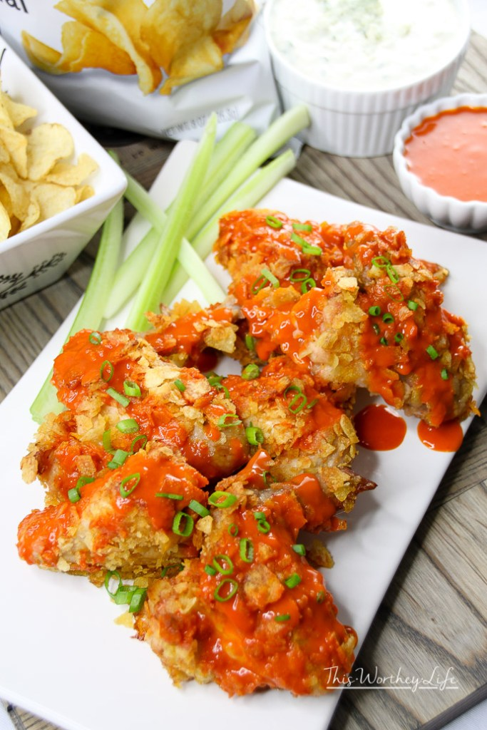 Potato Chip Buffalo Wings
