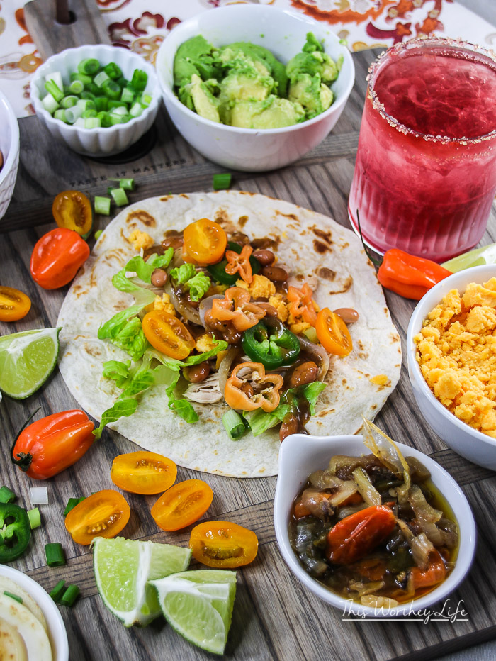 Instant pot shredded chicken street tacos this worthey life food we love to use our instant pot and create easy recipe ideas we cooked a forumfinder Gallery