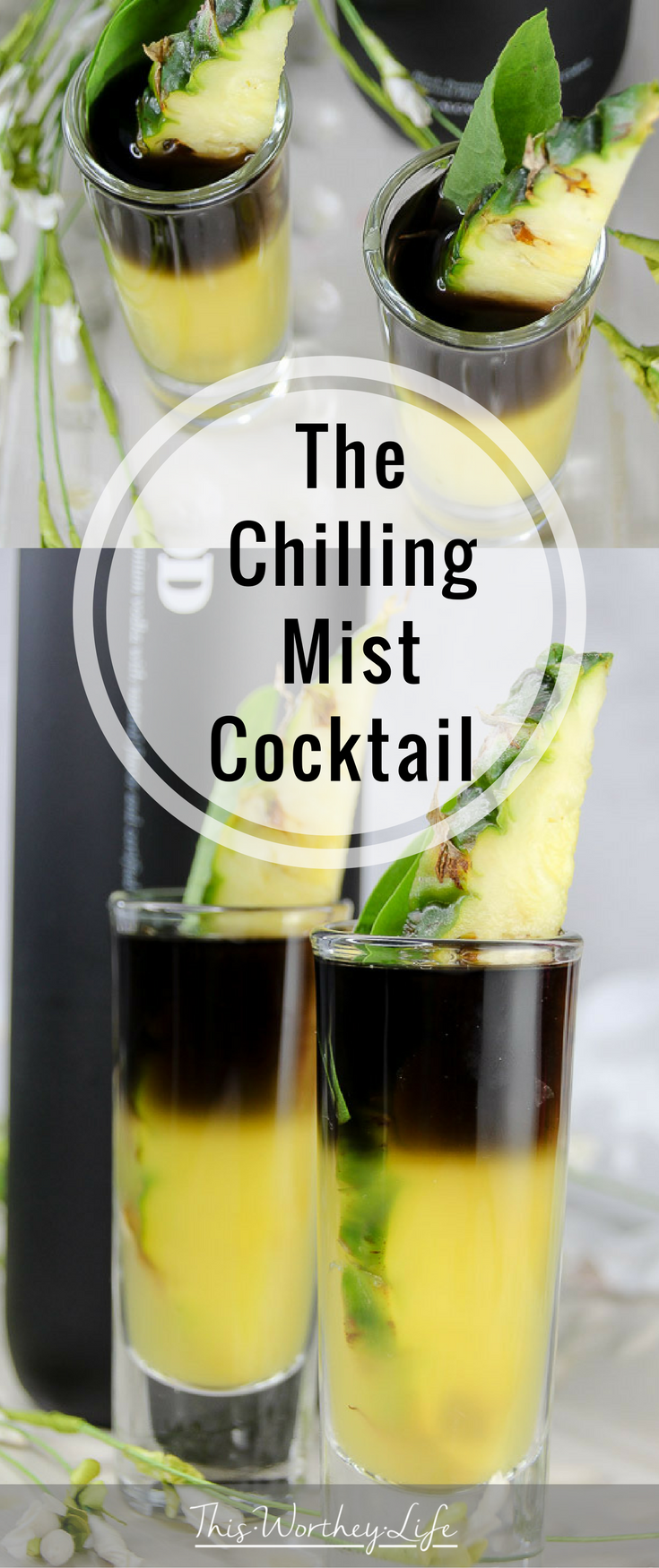Marvel's Black Panther arrives in theaters February 16th. We're celebrating with a series of Black Panther Themed cocktails. The Chilling Mist Cocktail is made with black vodka,Sorrel Infused Simple Syrup, pineapple juice, and a pineapple garnish. Grab the recipe below and great ready to celebrate all things, Black Panther!
