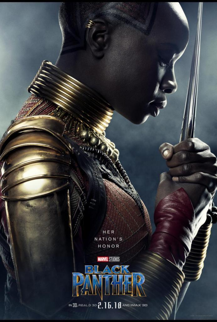 Women of Black Panther - Danai
