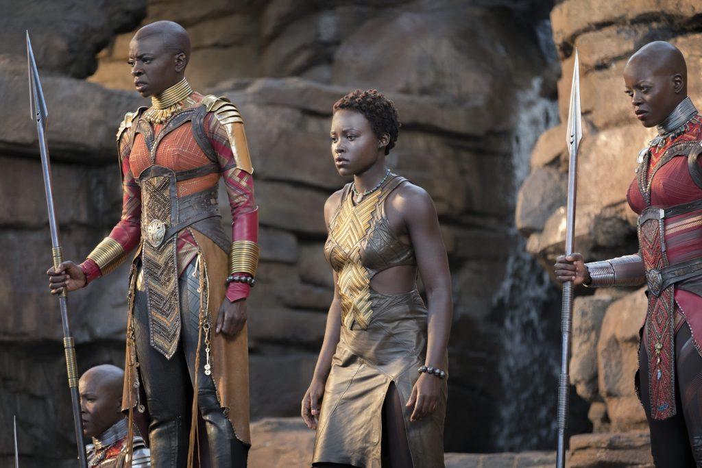 Black Panther Lupita + Danai