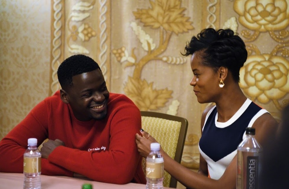 Interview withDaniel Kaluuya + Letitia Wright on empowering girls, comedy, and message of Black Panther