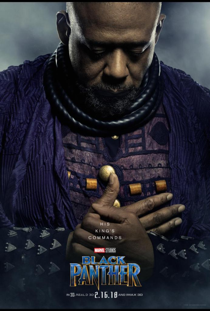 Interview with Forest Whitaker Black Panther