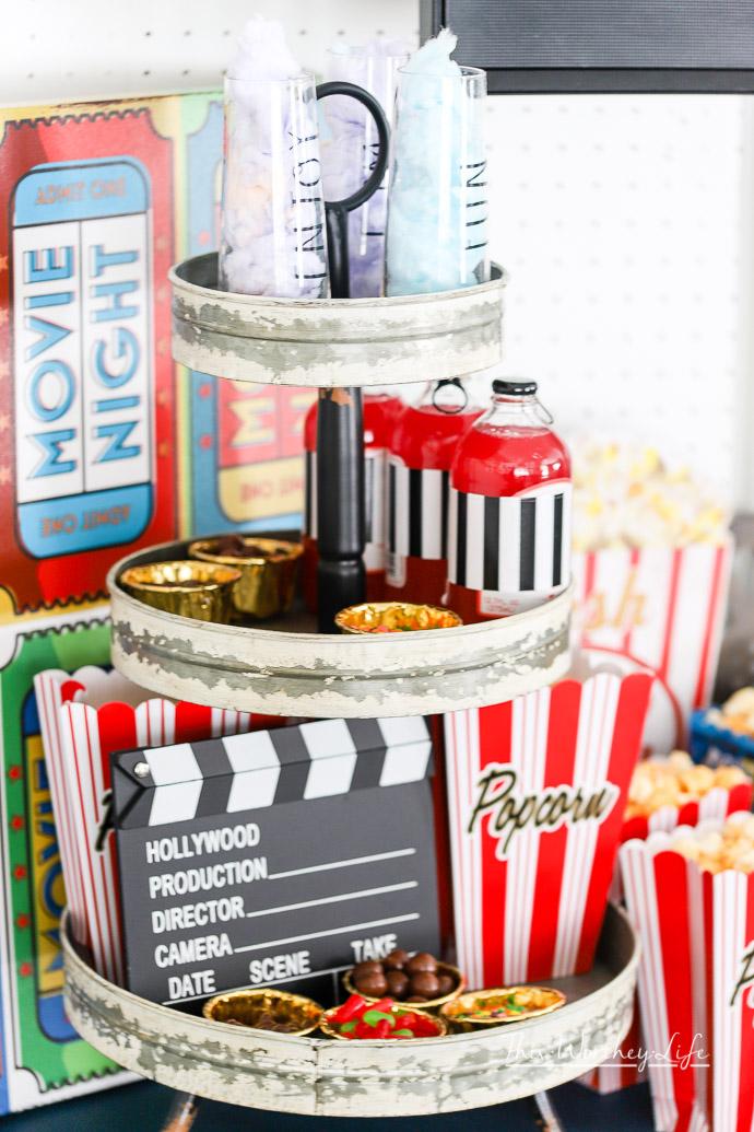 Movie Night-In Party Idea