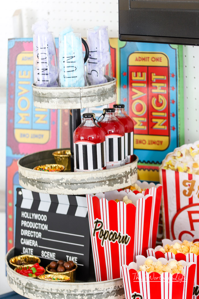 movie night party idea this worthey life food travel parenting