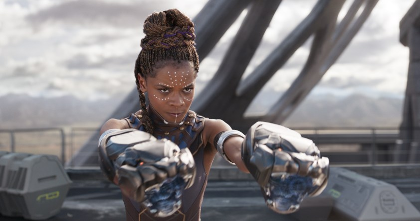 Scene Stealer of Black Panther Letitia Wright