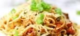 Easy dinner and budget-friendly pasta dinner idea: Easy Baked Spaghetti Casserole