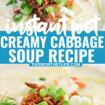Instant Pot Soup recipes using cabbage