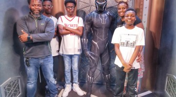 Black Panther Character Meet and Greet at Disney's California Adventure Park