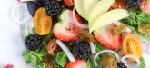 Summer Salad Recipe - Berry + Apple Summer Salad