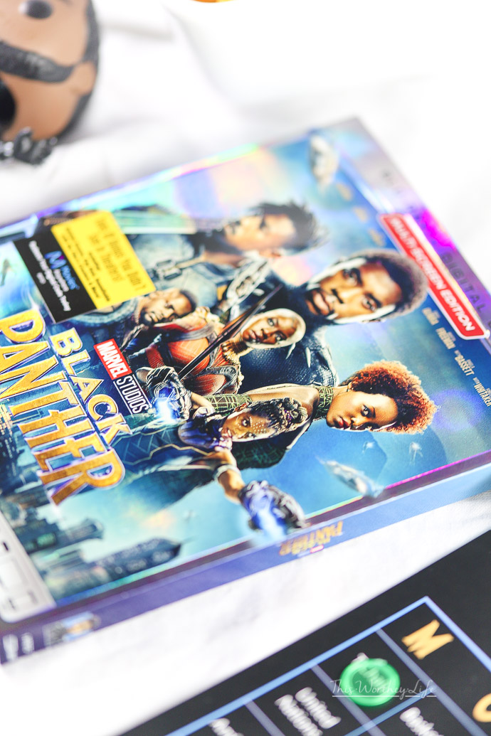 Bonus Material included in Black Panther