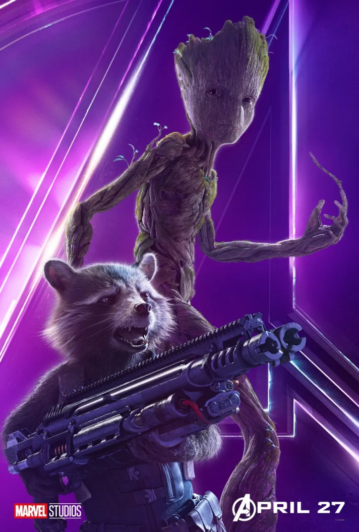 Rocket and Groot Avengers Infinity War