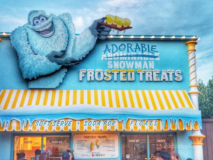 Best Pixar Fest Food to try