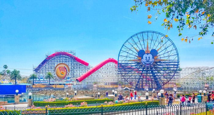 Pixar Pier California Adventure Park