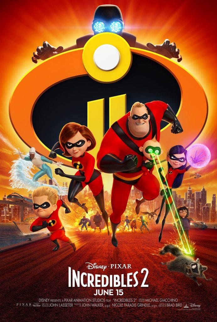 Disney + Pixar's Incredible 2 Movie