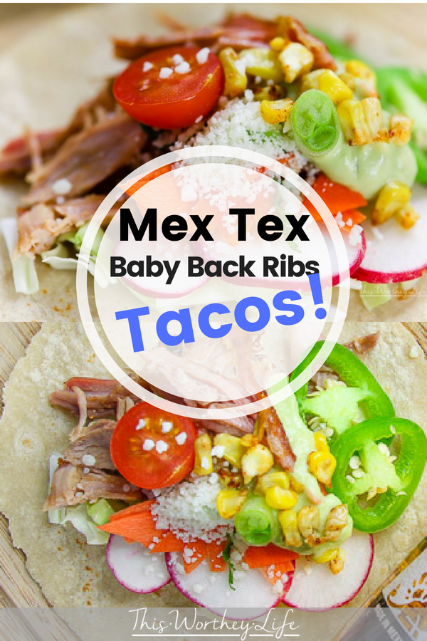 Fire up the grill, and let's get this party started with our Tex Mex Baby Back Rib Tacos. With a host of fresh veggies as toppings served with Avocado Crema, these grilled rib tacos will be what everyone will want to try at your next summer BBQ.