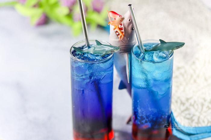 Shark Week   Blood In The Water Mocktail