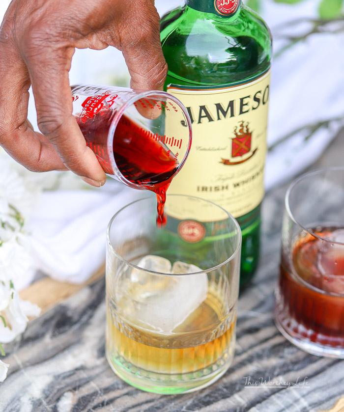 Tart Cherry Ginger Ale cocktail