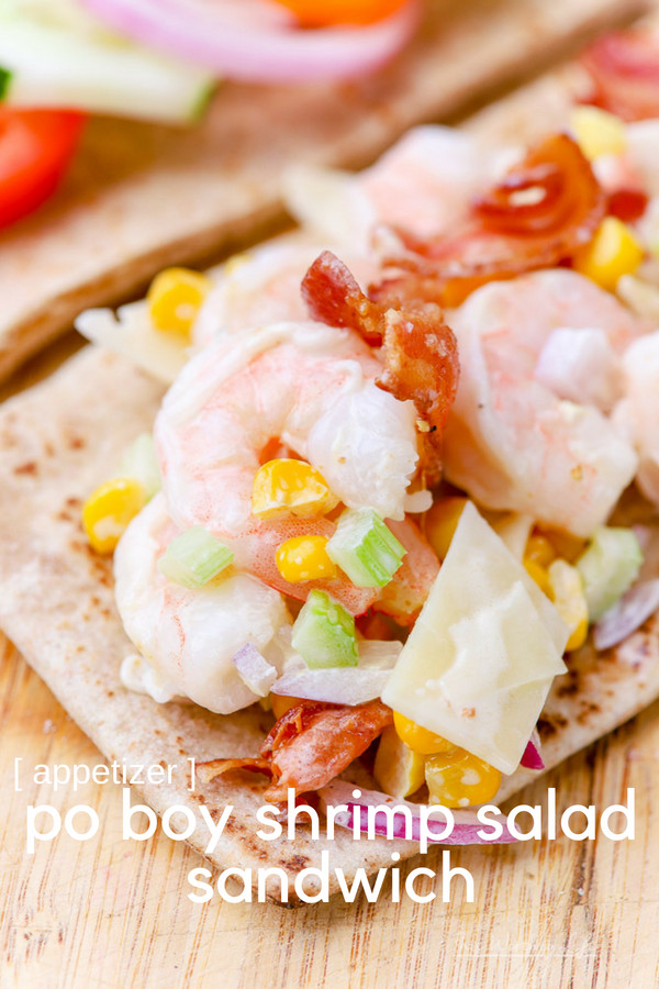 Shrimp Po' Boy Sandwich