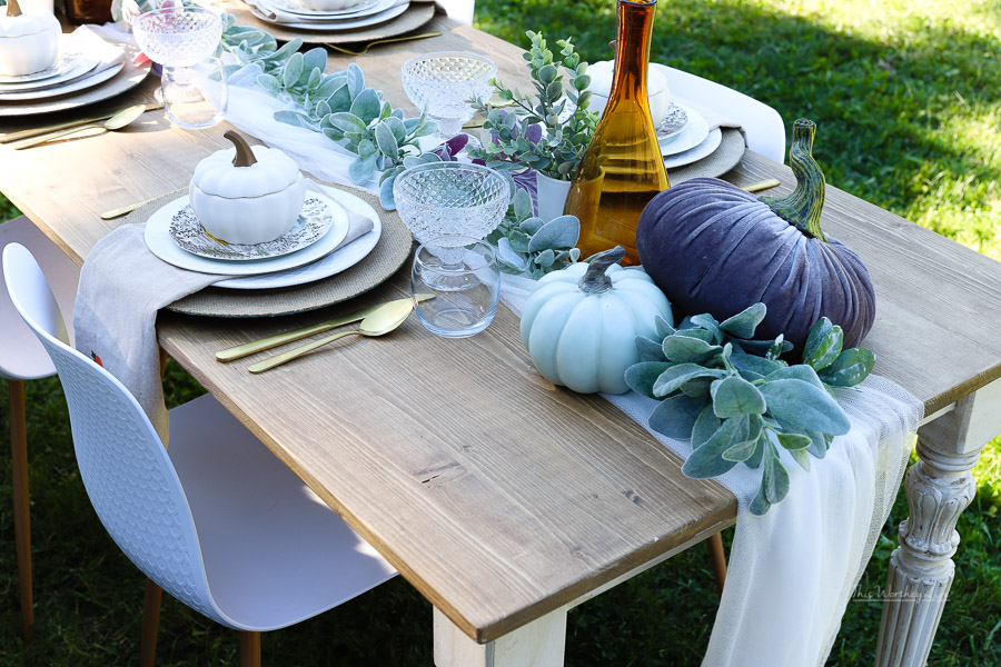 Outdoor Fall Harvest Party