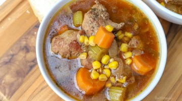 Pressure Cooker Recipe | Savory Pork Soup