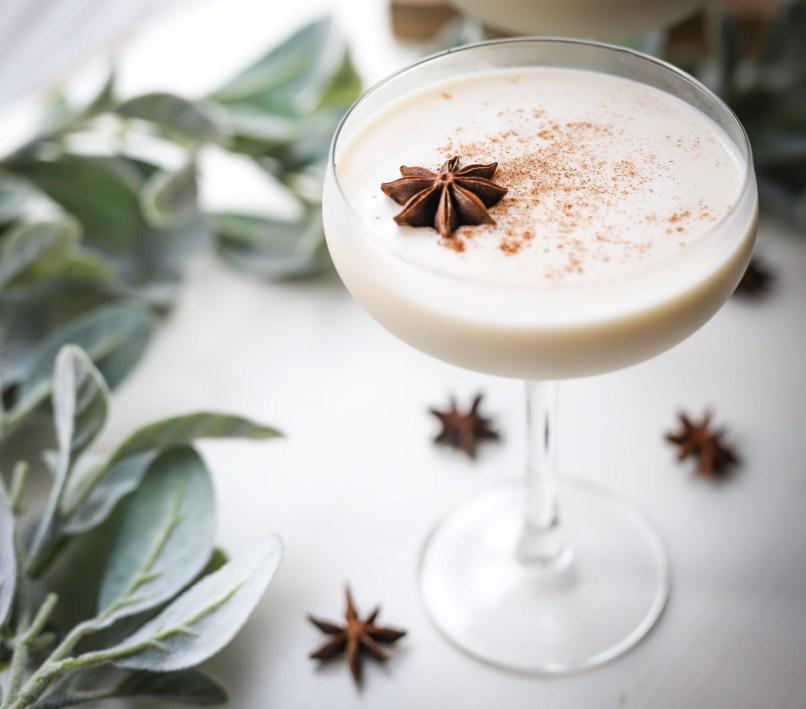 The Best Eggnog Cocktail