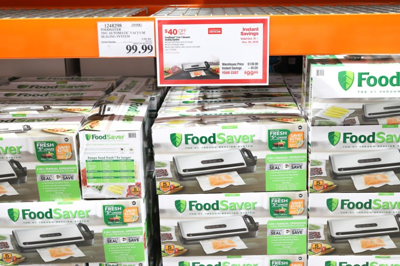 Find the best FoodSaver deals at CostCo