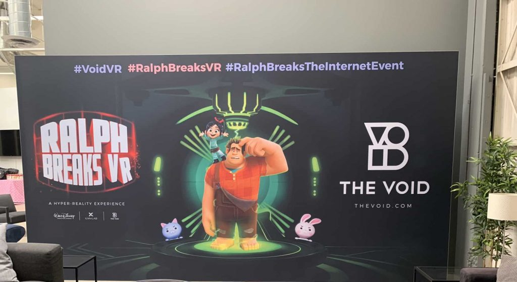 Ralph Breaks VR experience