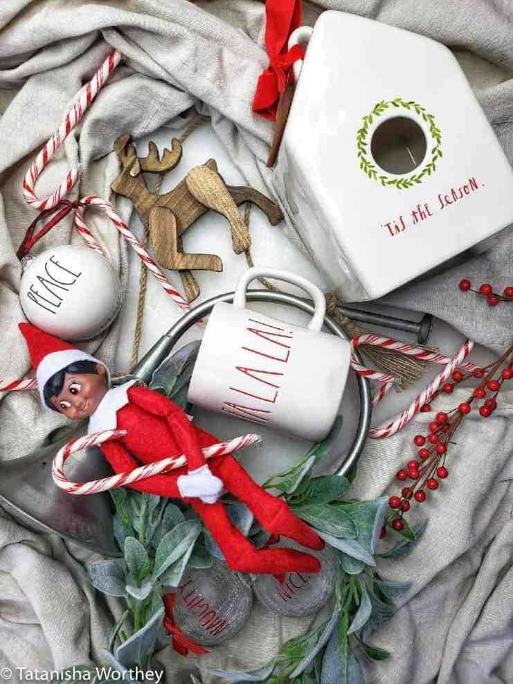 Rae Dunn Advent Christmas Countdown