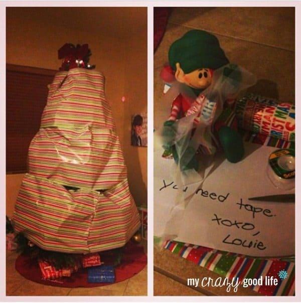Elf on the Shelf goodbye ideas