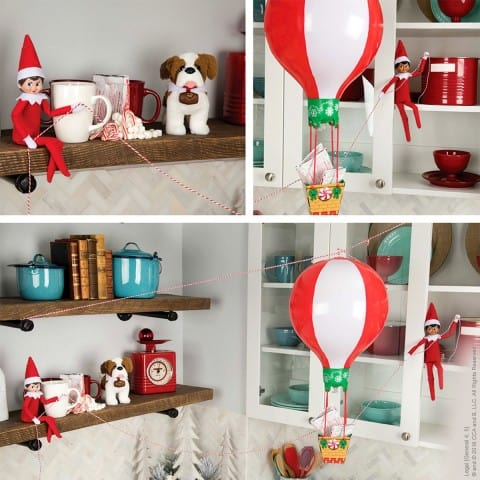 black elf on the shelf ideas