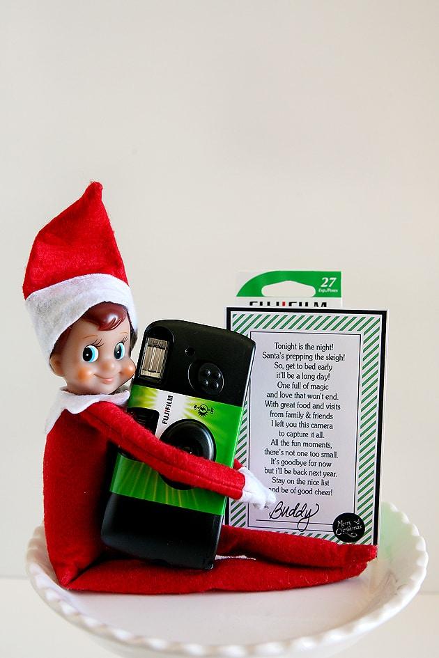 Elf on the Shelf goodbye printables